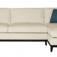 Bernhardt sofa with Chaise N5542_37_2789_002