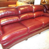 Hancock Moore Leather Sofa