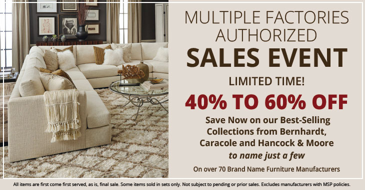 Factory Authorized Sales Event